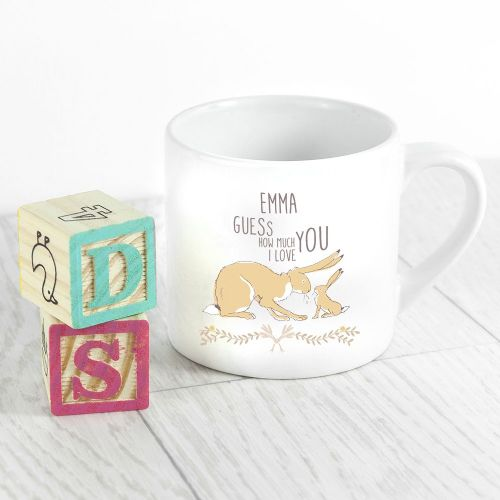 Personalised Guess How Much I Love You Babyccino Mug